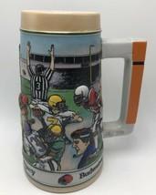 1990 Budweiser Gridiron legacy Cup Mug Collectible - $3.99