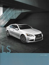 2013 Lexus LS 460 460L 600hL 2nd Edition brochure catalog 13 HYBRID F SPORT - $10.00