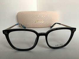 New LIU JO LJ 2637 LJ2637 001 Black 51mm Rx Women's Eyeglasses Frame  - $99.99