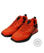 Auth Louis Vuitton V.N.R line sneakers 7 12 Orange Men's - $751.02
