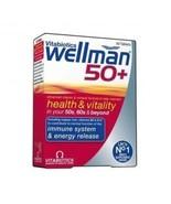 Vitabiotics - Wellman 50+  30 VTabs - $15.79