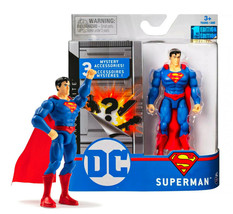 """DC Heroes Unite Superman 4"""" Action Figure with 3 Mystery Accessories MIB - $16.88"""