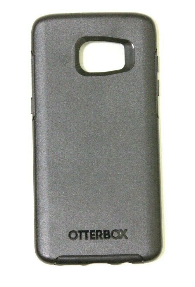 Authentic OtterBox SYMMETRY SERIES Case for Samsung Galaxy S7 EDGE Black - $9.89