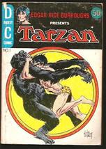 Edgar Rice Burroughs TARZAN #1 Digest DC Comics 1st Print Joe Kubert 197... - $17.00