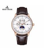 NEW Reef Tiger Luxury Watch Waterproof Automatic Self-Wind Moon Phase RG... - $230.99+