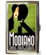 LOVELY ITALIAN MODIANO POSTER ART CIGARETTE MONEY CASE - $16.99