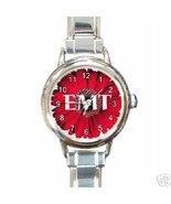 EMT, EMERGENCY MEDICAL TECHNICIAN FLOWER CHARM WATCH! - $23.99