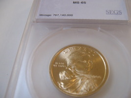 2000-P , Sacagawea Dollar  , MS 65 - $15.00