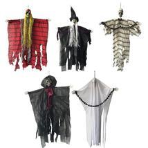 24 inch 60cm Halloween Hanging Pirate Witch Prisoner Reaper Ghost Haunte... - €10,44 EUR