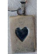 Unique heart pendant - $36.00