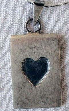 Unique heart pendant