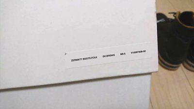 visvim ZERMATT BOOTS-FOLK 9.5 image 9