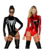 Spider Women Lingerie Cosplay Costume Nightclub Zentai Bodysuit - $33.13