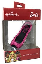 2017 Hallmark Barbie Pink Heel Tree Ornament - $30.18
