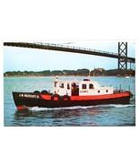 J W Westcott II Floating Post Office Boat Detroit MI Zip Code 48222 post... - $6.44