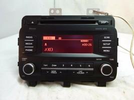 14 15 2014 2015  Kia Optima Radio Cd Player MP3 Sirius 96170-2TBA0CA UE256 - $37.13