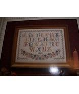 Alphabet Cross Stitch Chart - $5.00