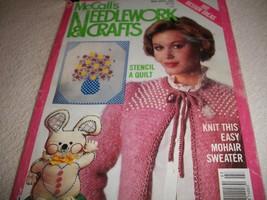 McCall's Needlework & Crafts Mar/April 1984 Magazine - $5.00