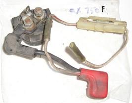 Kawasaki ZX750F 87-90, VN750 86-06 starter solenoid + fuse holder - $33.66