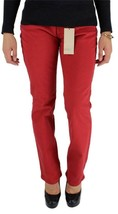 NEW LEVI'S WOMEN'S 505 PREMIUM CLASSIC STRAIGHT LEG JEANS RED 155050091
