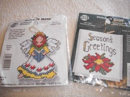 Christmas Miniature Counted Cross Stitch Kit Lot - $12.00