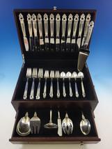 Royal Danish by International Sterling Silver Flatware Set Service 55 Pcs Dinner - $3,752.50