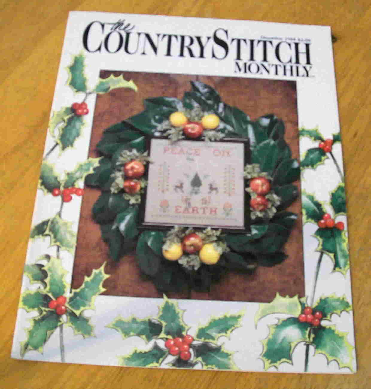The Country Stitch Monthly, December 1988