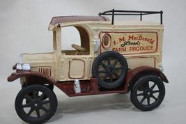 Vintage Iron/ Heavy Metal I.M. MacDonald Fresh Farm Produce Truck image 1