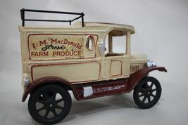 Vintage Iron/ Heavy Metal I.M. MacDonald Fresh Farm Produce Truck image 5