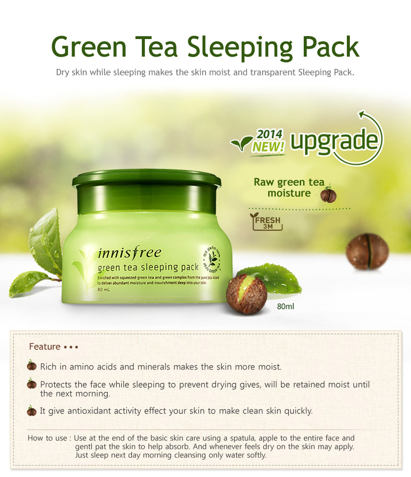 Greenteasleepingpack new