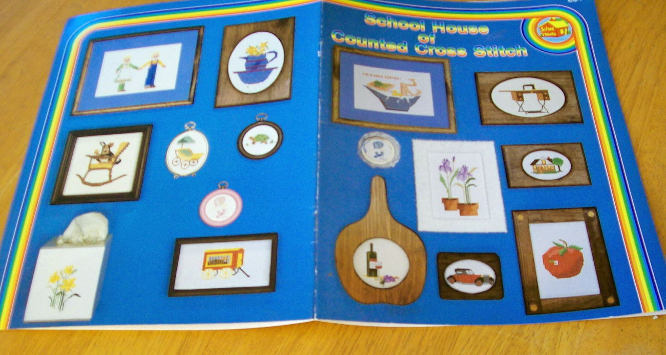 School House of Counted Cross Stitch, Book 7