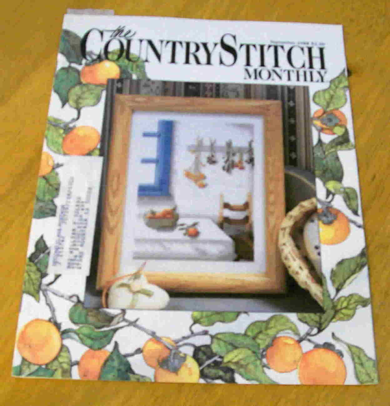 The Country Stitch Monthly, September 1988