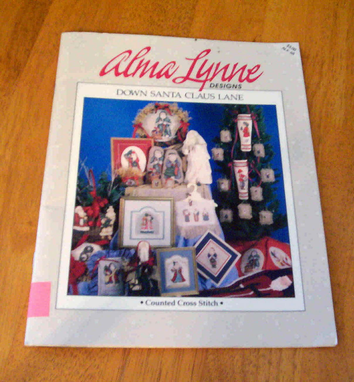 Down Santa Claus Lane Cross Stitch, Alma Lynne
