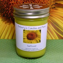 Sunflower Jelly Jar Candle - $8.00