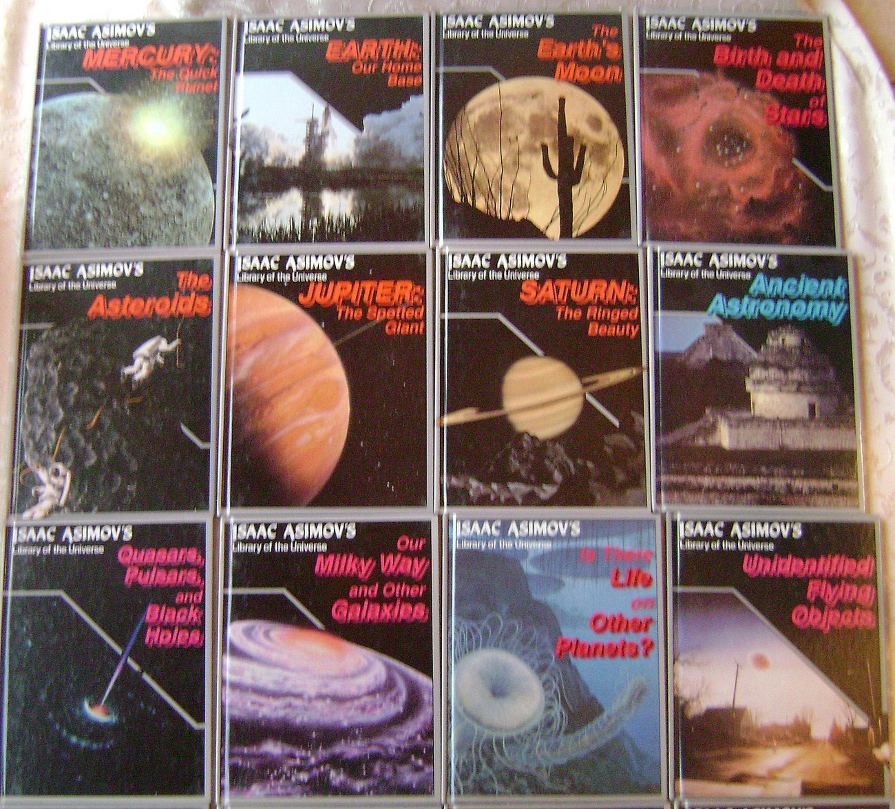Primary image for Lot of 19 Isaac Asimov's Library of the Universe Space Books