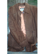 Vintage GENUINE LEATHER Brown Jacket - Vintage Clothes, Free Shipping - $180.00