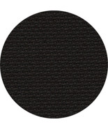18ct Black Aida 18x25 cross stitch fabric Zweigart - $11.25