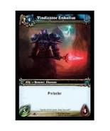 World Of Warcraft VINDICATOR ENKALLUS Through The Dark Portal 195 - $0.29