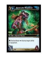 World Of Warcraft KAVAI THE WANDERER Through The Dark Portal 173 - $0.35