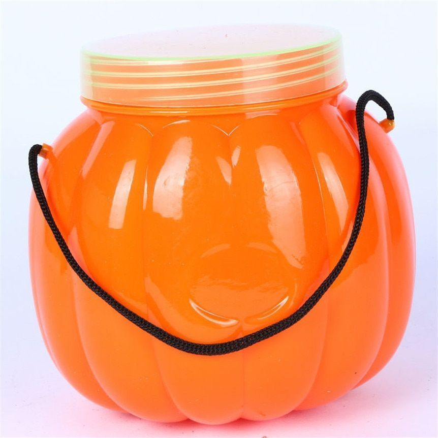 Pet Halloween Party Pumpkin Bottle Box Candy Tank Box Decorative Halloween Decor