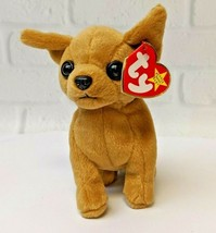 1998 TY Tiny Chihuahua Beanie Baby Errors PE Pellets MWMT Plush Stuffed ... - £7.99 GBP