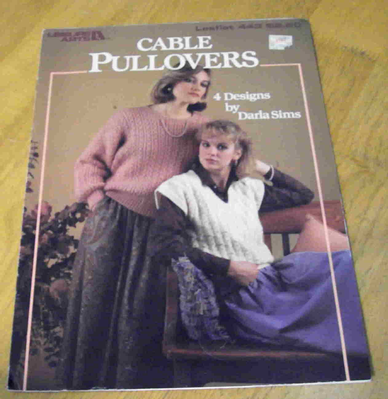 Cable Pullovers Knitting by Darla Sims