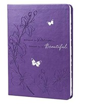 DESIGNED TO DREAM, CREATED TO BE BEAUTIFUL Purple Christian Inspiration ... - $21.73