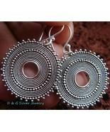 Sterling Silver Round Bali Design Earrings SE-148-DG - $23.97