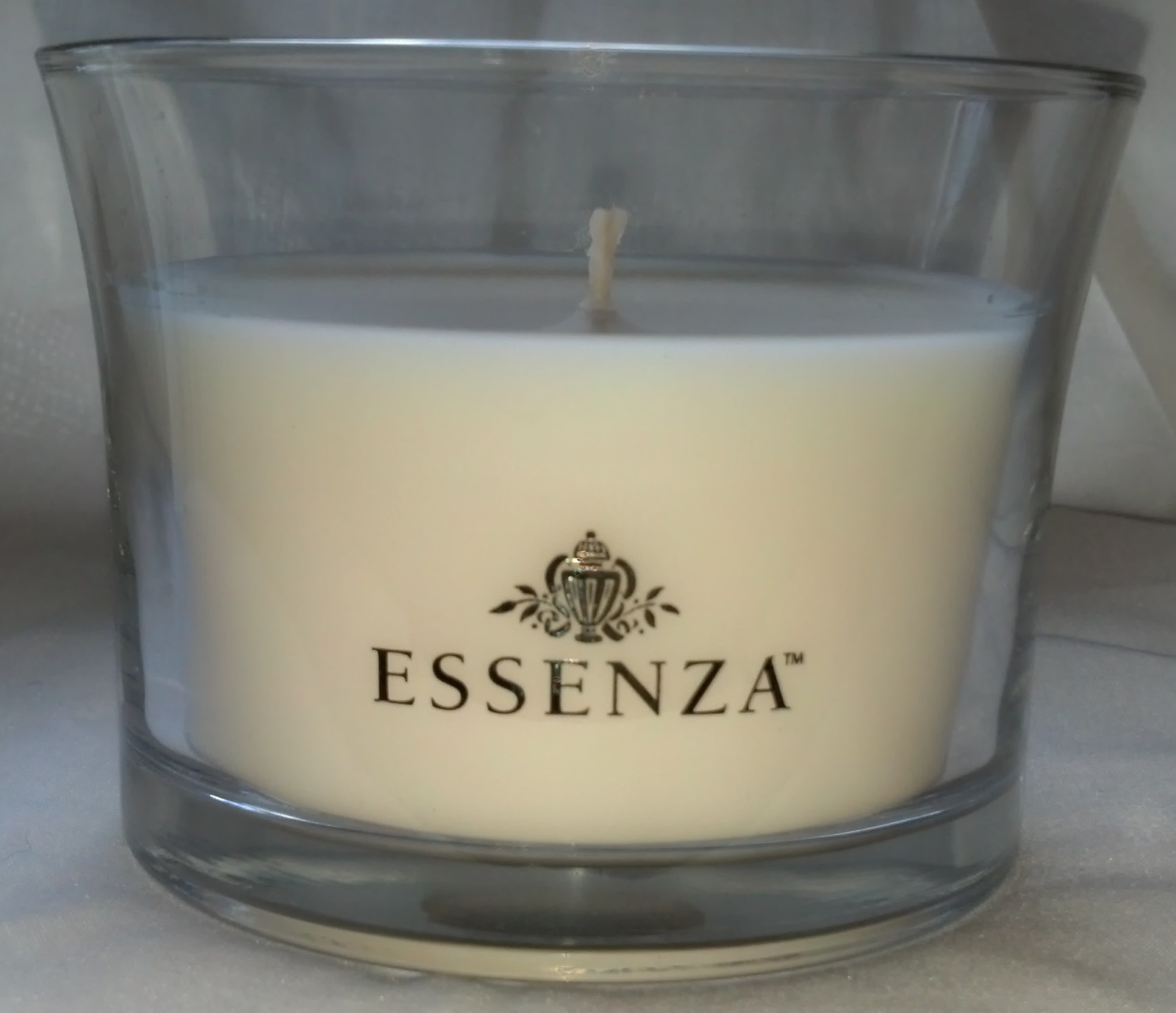 essenza candles 10 oz large decorative glass and 50 similar items. Black Bedroom Furniture Sets. Home Design Ideas