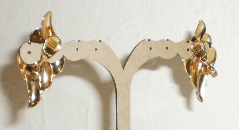 Monet Triple Strand Chain Necklace & Earrings
