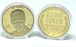 2020 = RARE = 2020  5 x Joe Biden ZERO CENTS coin/ Trump Thumping Biden ... - $16.20
