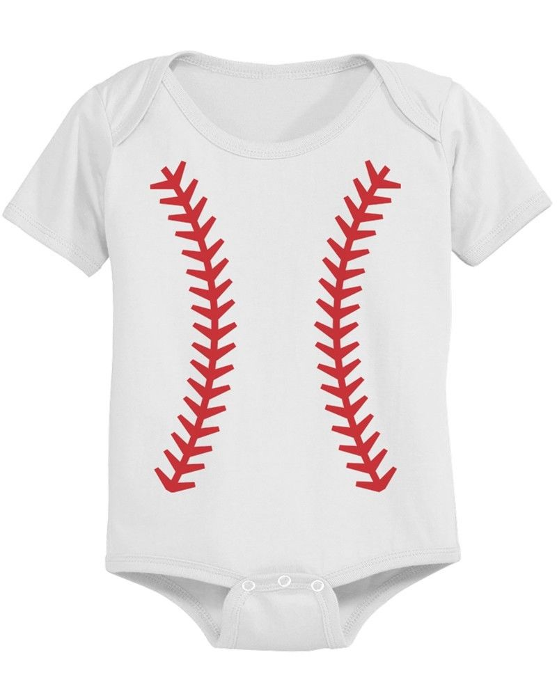 Daddy mommy and baby matching baseball t shirt and onesie for Baby onesie t shirt