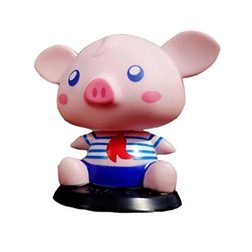 [Sailor Piggy] Bobbleheads Car Ornaments/Car Decoration,4.7x3.9x3.3''