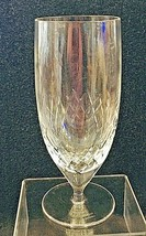 "Marquis By Waterford Calla Ice Tea Goblet Crystal Glass Excellent Shape 7 1/2""  - $36.14"